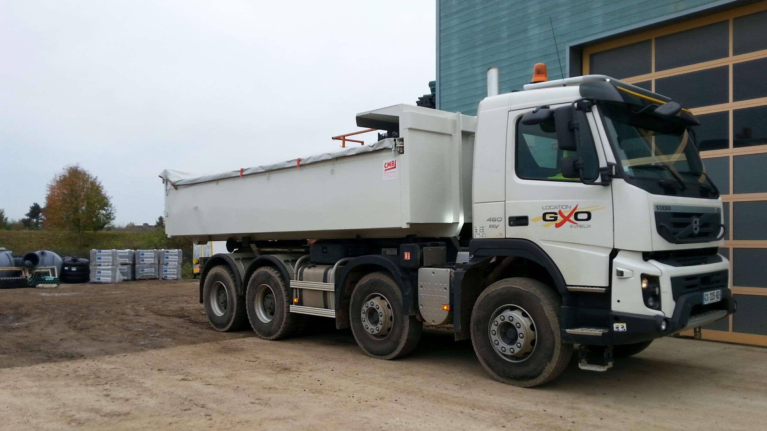 Gxo location de camion benne avec chauffeur eure 27 - Location de camion benne ...